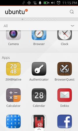 Tutorial - create your first web app | Ubuntu Phone documentation