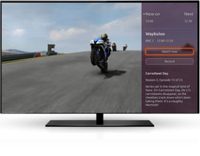 Ubuntu TV watch or record functionality
