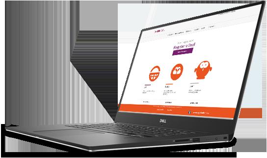 Photo of laptop running Ubuntu