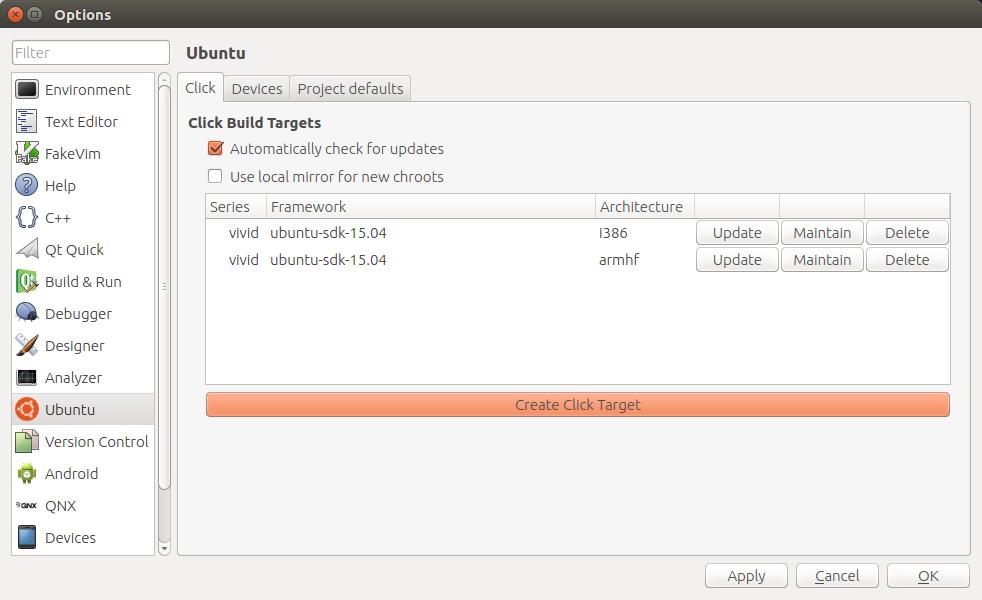 Tutorials - building cross-architecture click applications | Ubuntu