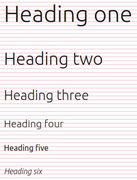 Baseline grid example