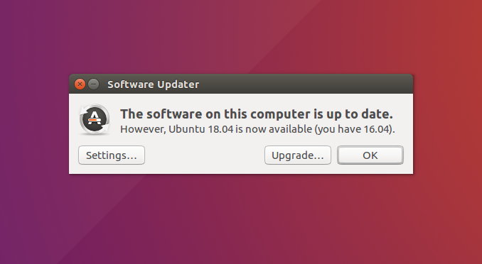 Software Updater new version discovered