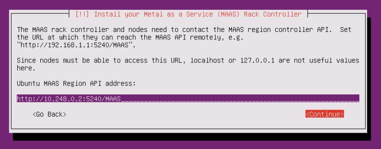 rackd install dialog 2