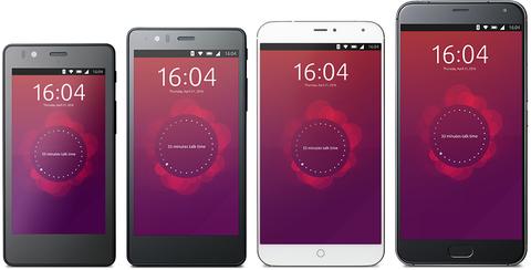 Ubuntu phones lineup