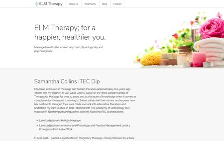 Elm Therapy screenshot