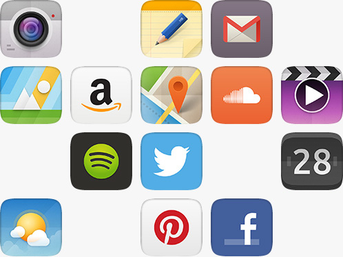 Collection of top apps available on Ubuntu Phone